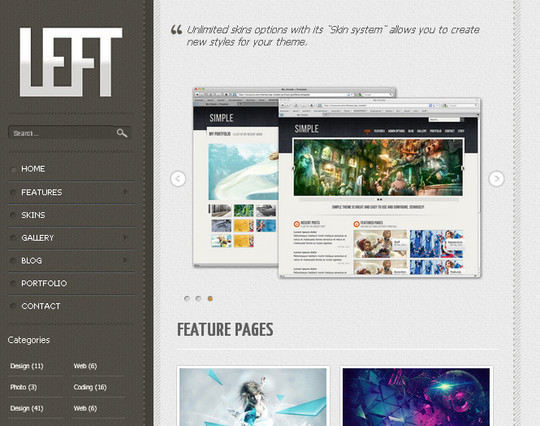 A Beautiful Collection Of Free HTML5 And CSS3 Templates 11