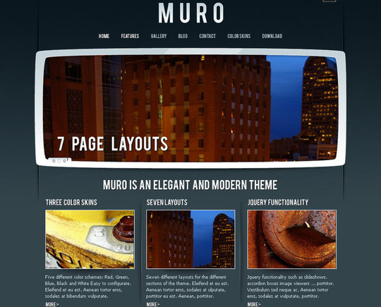 A Beautiful Collection Of Free HTML5 And CSS3 Templates 12