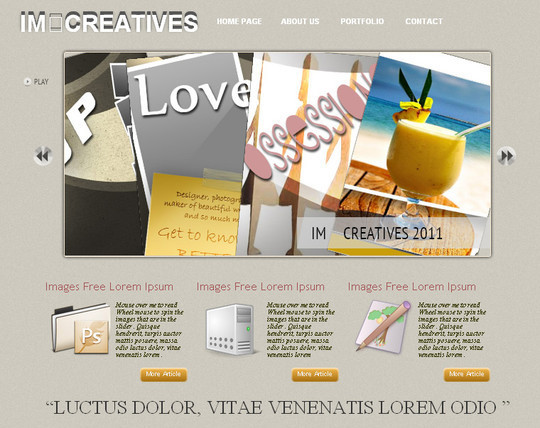 A Beautiful Collection Of Free HTML5 And CSS3 Templates 14