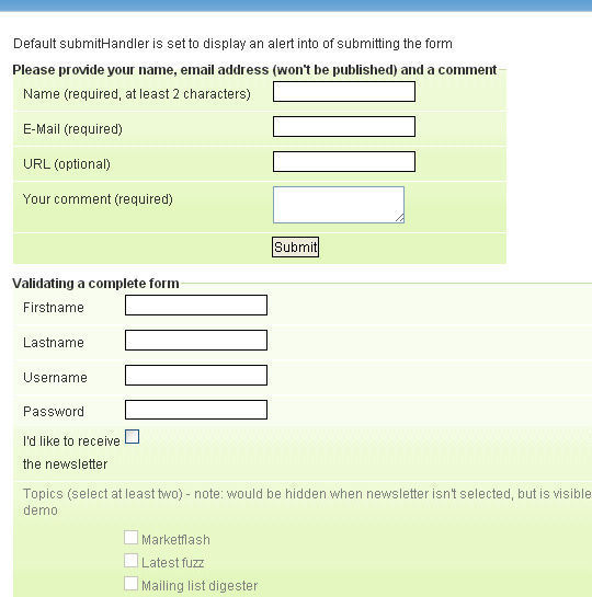 10 (More) jQuery Plugins That Enhance Your Forms 5