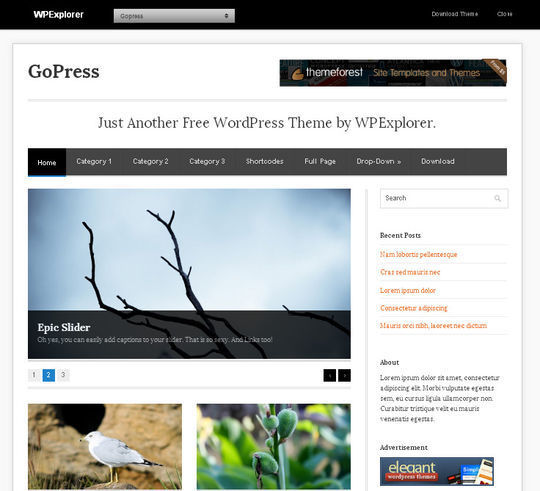 40 Magazine Style Wordpress Themes For Free Download 21