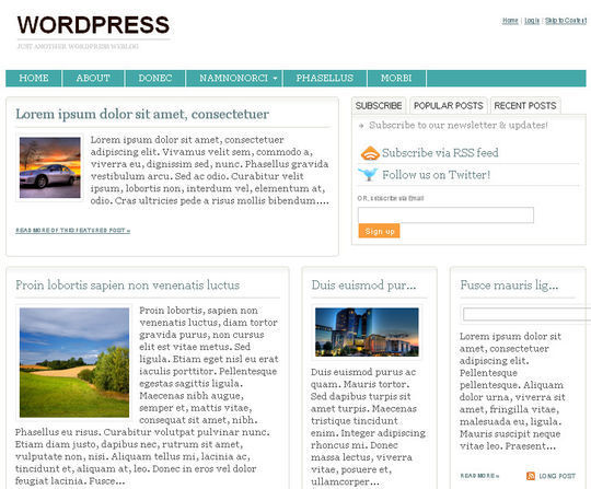40 Magazine Style Wordpress Themes For Free Download 5