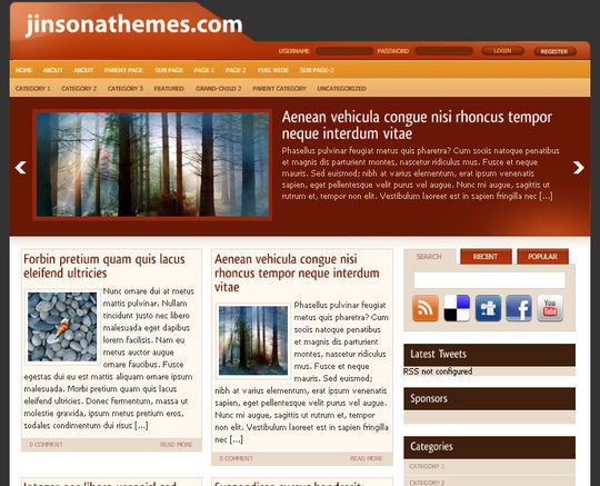 40 Magazine Style Wordpress Themes For Free Download 30