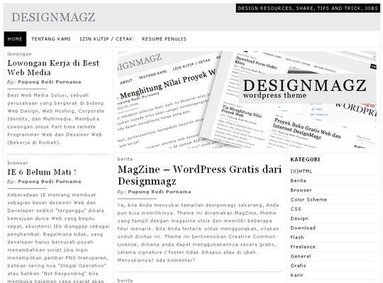 40 Magazine Style Wordpress Themes For Free Download 35