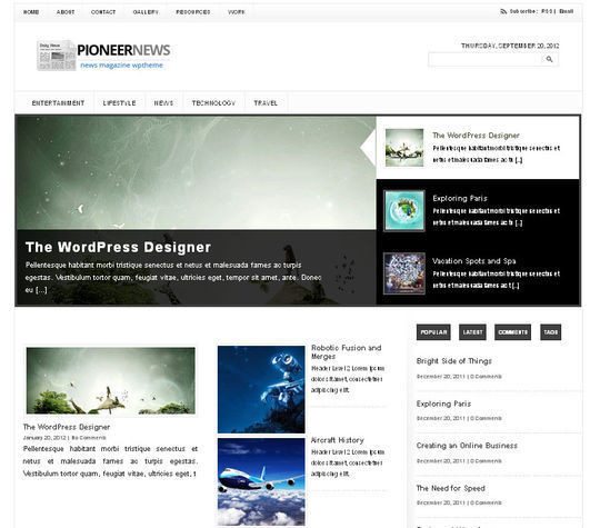 40 Magazine Style Wordpress Themes For Free Download 10