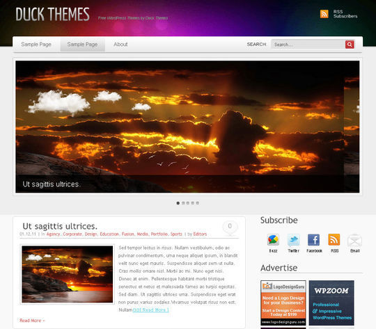 40 Magazine Style Wordpress Themes For Free Download 40