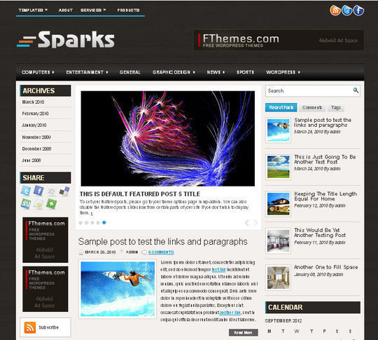 40 Magazine Style Wordpress Themes For Free Download 13