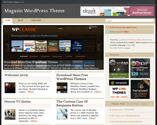 40 Magazine Style Wordpress Themes For Free Download 14