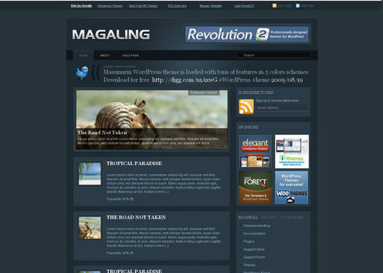 40 Magazine Style Wordpress Themes For Free Download 16