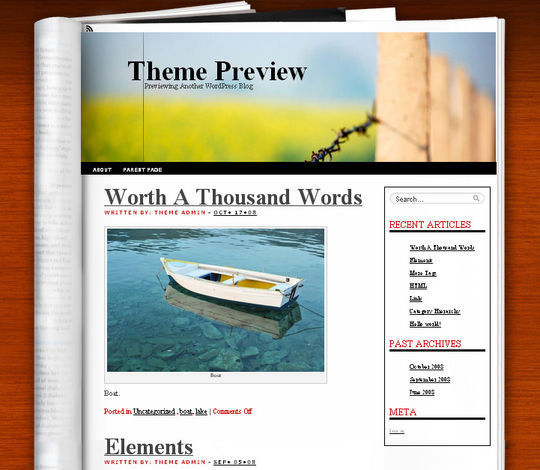 40 Magazine Style Wordpress Themes For Free Download 19