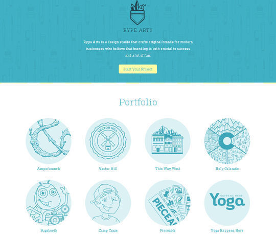40 Creative Websites Using Minimal Colors Effectively 19