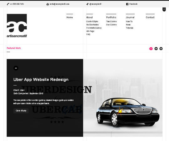 40 Creative Websites Using Minimal Colors Effectively 25