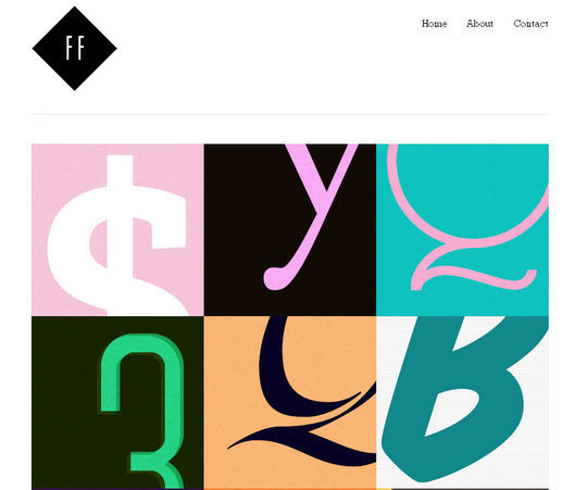 40 Creative Websites Using Minimal Colors Effectively 28