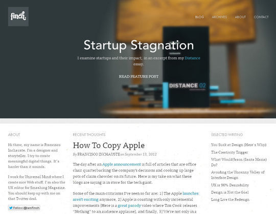 40 Creative Websites Using Minimal Colors Effectively 30