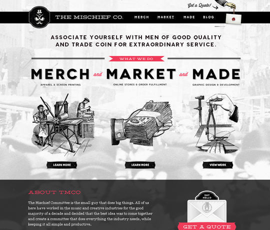 40 Creative Websites Using Minimal Colors Effectively 6