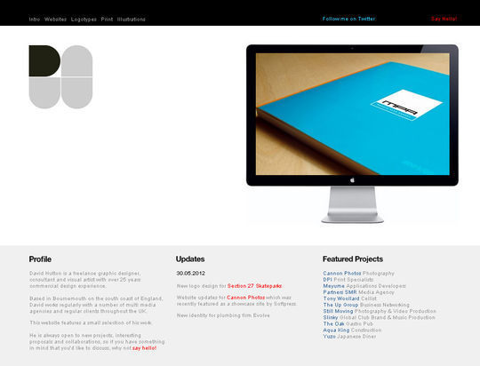 40 Creative Websites Using Minimal Colors Effectively 34