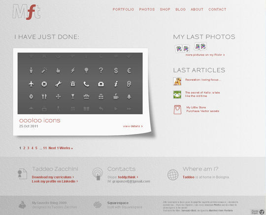 40 Creative Websites Using Minimal Colors Effectively 36