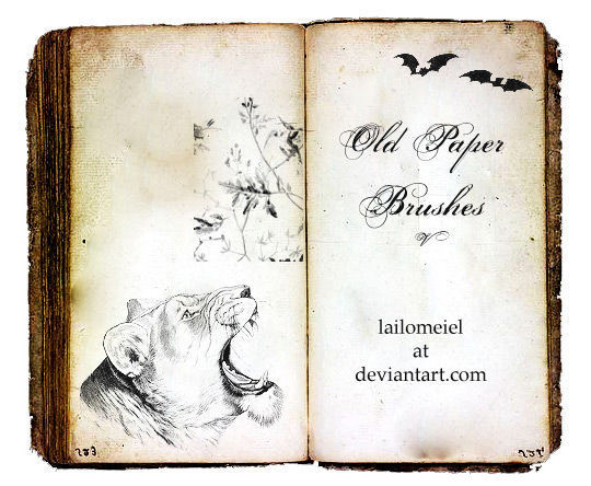 23 High Quality Old Free Paper Photoshop Textures 13