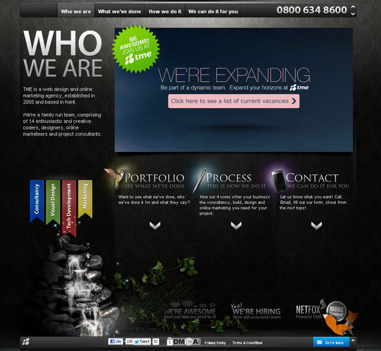 Showcase Of Beautiful Patterns And Textures In Web Design 10