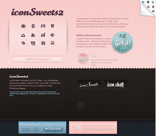 Showcase Of Beautiful Patterns And Textures In Web Design 21