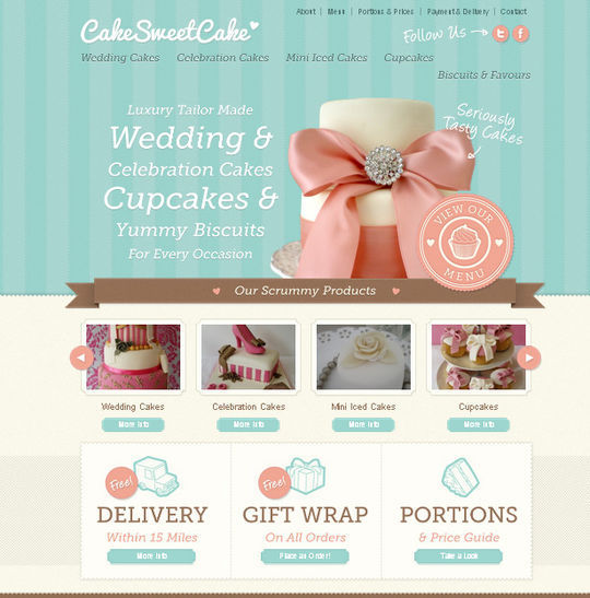 Showcase Of Beautiful Patterns And Textures In Web Design 4