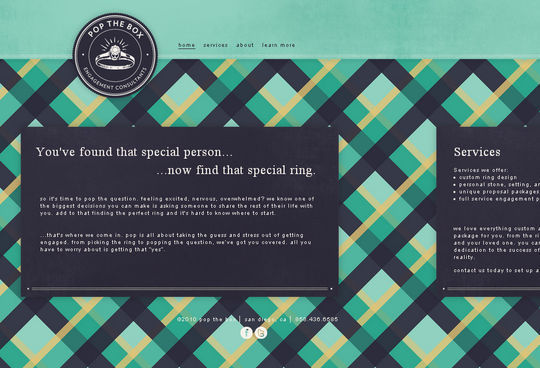 Showcase Of Beautiful Patterns And Textures In Web Design 3