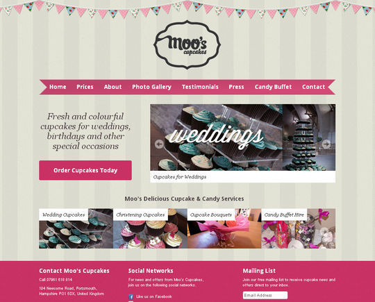 Showcase Of Beautiful Patterns And Textures In Web Design 7