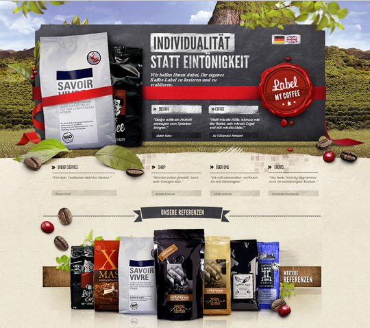 Showcase Of Beautiful Patterns And Textures In Web Design 15
