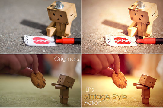 40 Time Saving Free Photoshop Actions For Vintage Effect 18