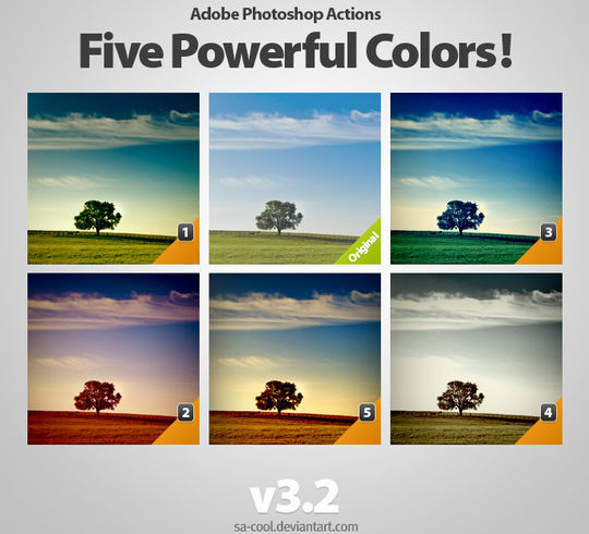 40 Time Saving Free Photoshop Actions For Vintage Effect 33
