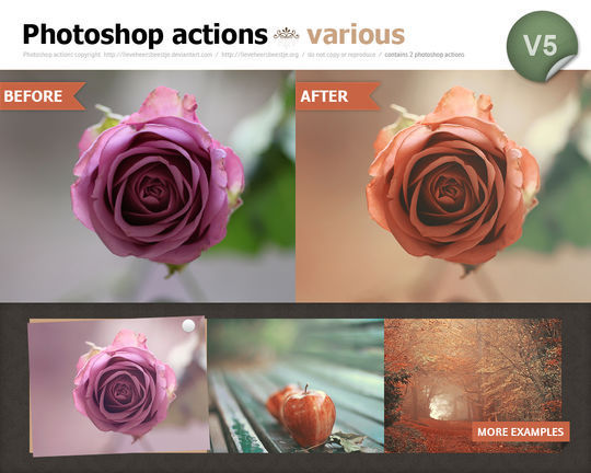 40 Time Saving Free Photoshop Actions For Vintage Effect 34
