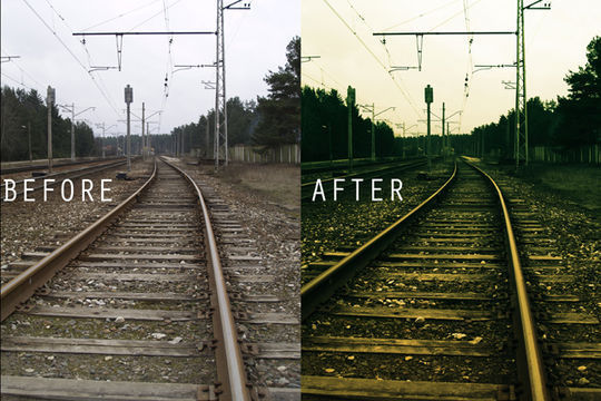 40 Time Saving Free Photoshop Actions For Vintage Effect 35