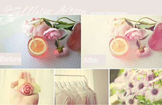 40 Time Saving Free Photoshop Actions For Vintage Effect 5