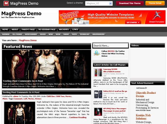10 Best Free 3 Column WordPress Themes 28