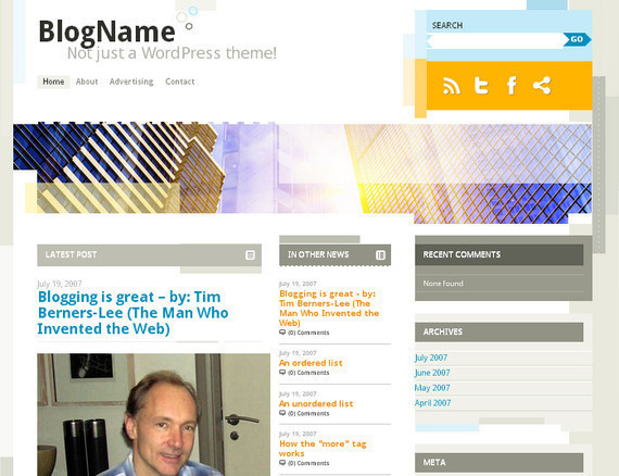 10 Best Free 3 Column WordPress Themes 14