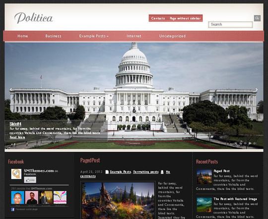 Showcase Of Powerful Free WordPress Business Themes 16