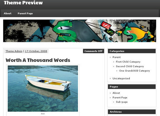 Showcase Of Powerful Free WordPress Business Themes 20