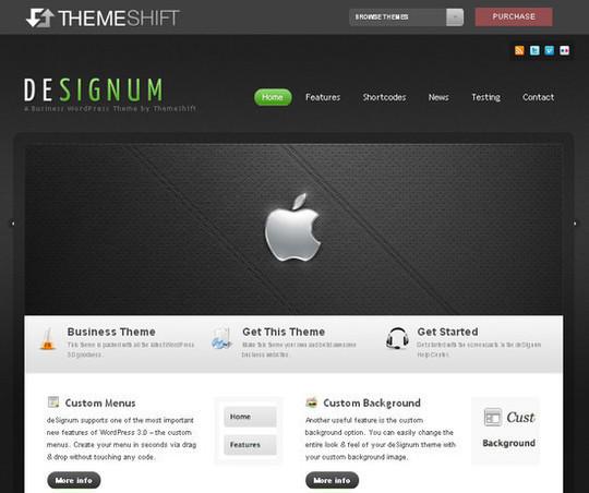 Showcase Of Powerful Free WordPress Business Themes 21