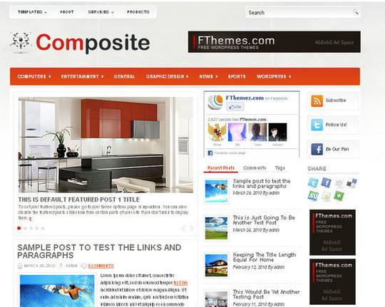 Showcase Of Powerful Free WordPress Business Themes 12