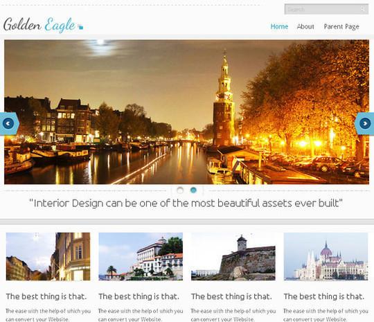 Showcase Of Powerful Free WordPress Business Themes 24