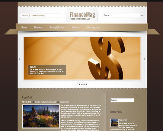 Showcase Of Powerful Free WordPress Business Themes 2