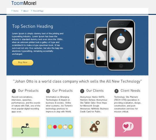 Showcase Of Powerful Free WordPress Business Themes 26