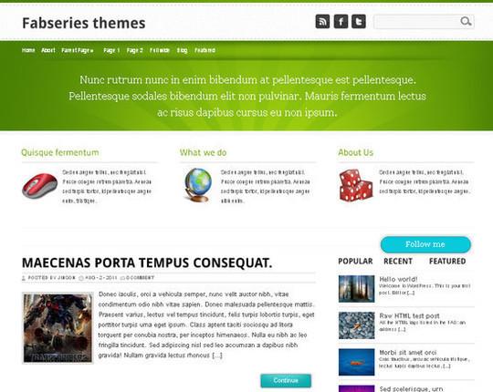Showcase Of Powerful Free WordPress Business Themes 29