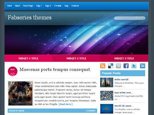 Showcase Of Powerful Free WordPress Business Themes 30