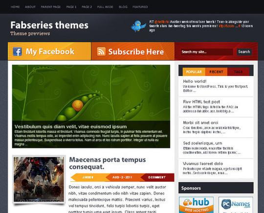 Showcase Of Powerful Free WordPress Business Themes 31