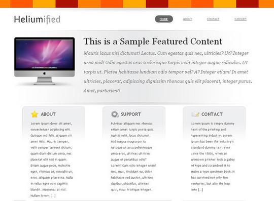 Showcase Of Powerful Free WordPress Business Themes 14