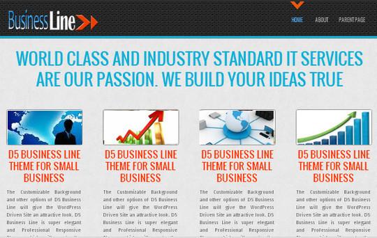 Showcase Of Powerful Free WordPress Business Themes 8