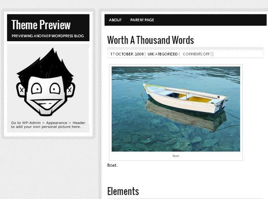 Showcase Of Powerful Free WordPress Business Themes 9