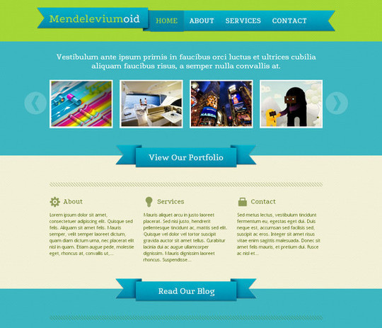 Showcase Of Powerful Free WordPress Business Themes 3
