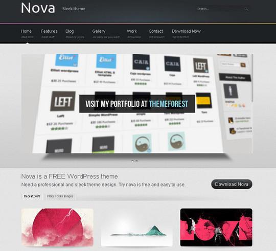 Showcase Of Powerful Free WordPress Business Themes 5